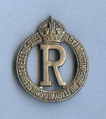 British Army Hat Badge Queen Alexandra's Imperial Military Nursing Svc. Reserve
