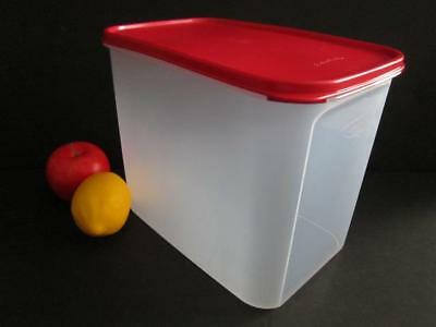 Brand New TUPPERWARE Modular Mates Rectangular 4/ Red 37Cups Rectangle Container
