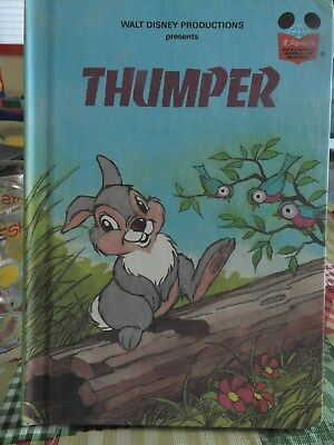 Walt Disney's THUMPER  Hardcover book Wonderful World of Reading