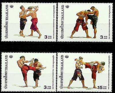 Thailand 2003 Heritage Conservation - Thai Boxing set of 4 MNH
