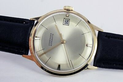 Junghans Bauhaus Automatic Date Uhr/Watch Herren/Gents Cal. 651 Two Tone Dial