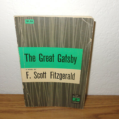 The Great Gatsby Classic Novel Book by F. Scott Fitzgerald *1953 edition