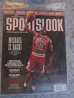 Vintage 1995 Collector's Sports Look Magazine Michael Jordan Cover Sealed