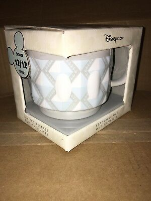 Mickey Mouse Memories Stackable Mug Brand New In Box December series 12