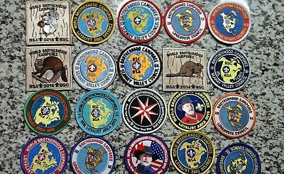 Boy scout patches 20 World Brotherhood Camporee