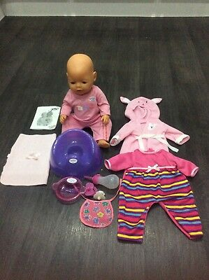 Baby Born doll with accessories by zapf creation