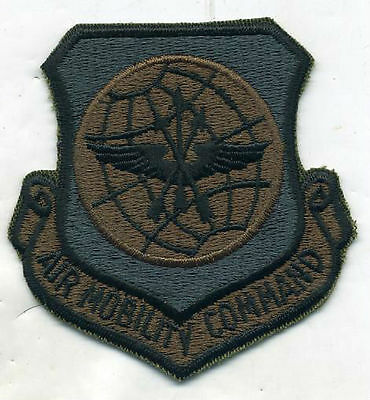 US Air Force Air Mobility Command OD Subdued Patch