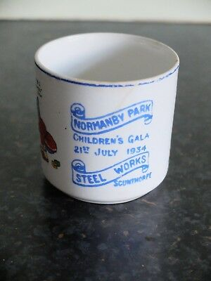 Normanby Park Scunthorpe Steelworks Children's Gala Cup 1934