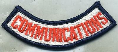 US Army Signal Corps Commumications Color Patch Tab