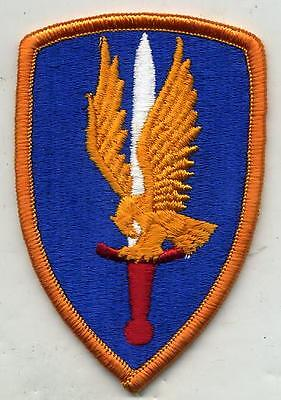 Vintage Vietnam era US Army 1st Aviation Brigade Color Patch Merrowed Edge