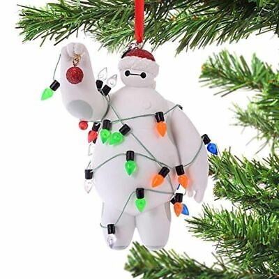 New 2020 Disney Parks Big Hero 6 Baymax With Scarf Christmas Holiday Ornament
