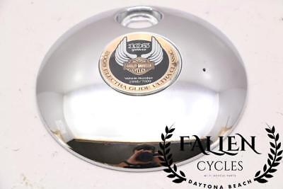 08 Harley Electra Glide Ultra Fuel Gas Tank Cap Lid Cover 105th Anniversary
