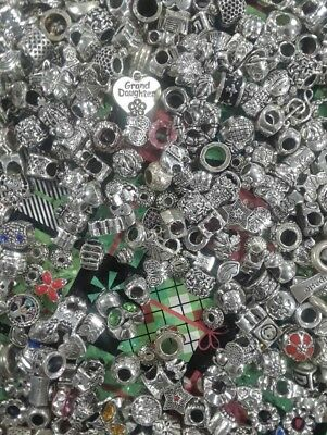 50x Mixed Antique Tibetan Silver Charms Joblot Wholesale