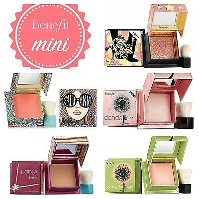Benefit Blush❤Mini Gold Rush, Hoola, Dandelion/Twinkle, GALifornia❤AUTHENTIC