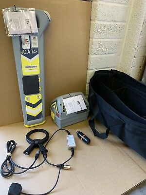 Radiodetection eC.A.T 4+ Cable Locator & Genny 4 c/w 12 Mth Warranty & Cert