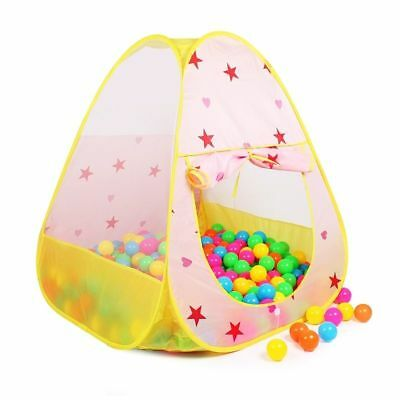 Toy Tents Folding Outdoor Play House Children Beach Game Tents Soft Ball Pool