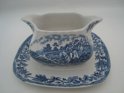 Myott Gravy Boat with Underplate