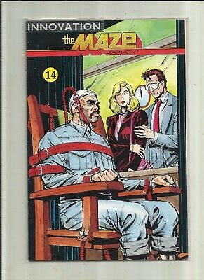 THE  MAZE AGENCY . No 14 . (1990)  Innovation Comics.