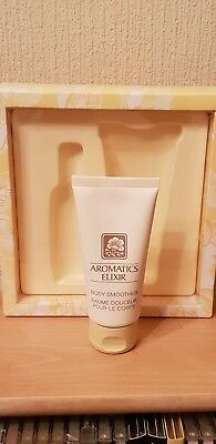 Clinique aromatics elixir body smoother. 75ml. Brand new
