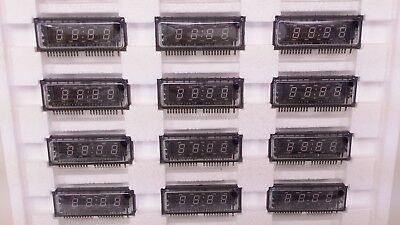 lot of 24 FUTABA 4-BT-03Z 4 Digit 7-Segment Vacuum Fluorescent Display New