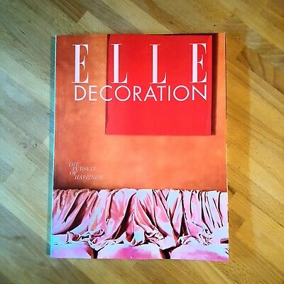 Elle Decoration Magazine Issue 312 Aug 2018 *subscriber Cover*