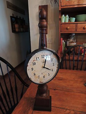 Clock farm House Country Rustic  Antique / country Look Metal / wood