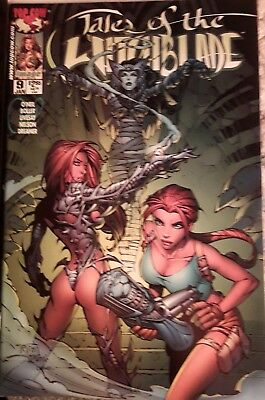 Tales Of Witchblade #9 with lara croft Top Cow Image Comic
