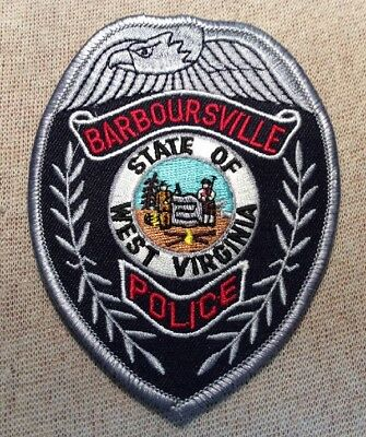 WV Barboursville West Virginia Police Patch