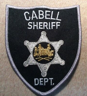 WV Cabell County West Virginia Sheriff Patch