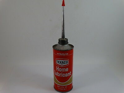 Vintage Texaco Home Lubricant Tin 4 oz