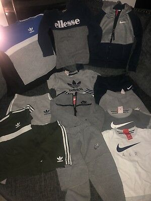 Boys Adidas Nike Ellesse Bundle Age 2-3 RRP Over £200