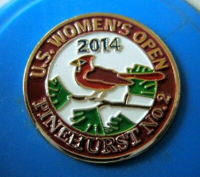 "Historic 2014 Us Women's Open @ Pinehurst Resort - 1"" Coin Golf Ball Marker"