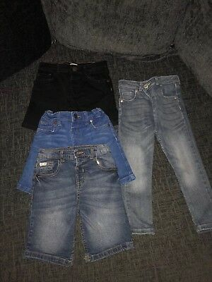 Boys Bundle Of River Island Denim Jeans And Shorts Age 2-3