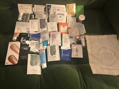 Get Glowing Gorgeous! 42 Luxury, Green Beauty, Full Travel Size Samples! Score!