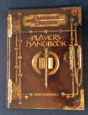 Dungeons & Dragons 3rd Edition Player's Handbook Core Rulebook englisch