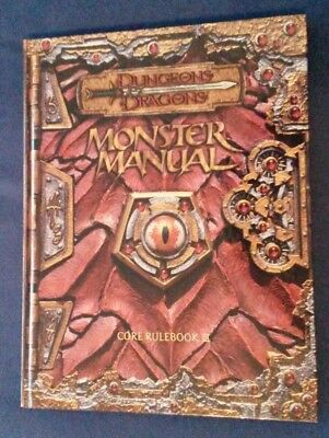 Dungeons & Dragons 3rd Edition Monster Manual Core Rulebook englisch