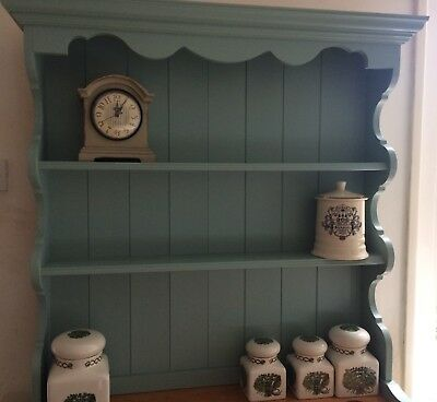 Beautiful Vintage Solid Pine Dresser Painted In Farrow & Ball