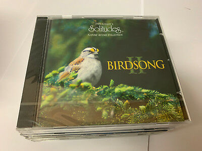 Birdsong II Solitudes Nature Sound Collection NEW SEALED CD 096741695728 - [B1]