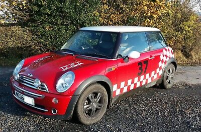 Mini Cooper 1.6 petrol, MOT, 4 new tyres, stainless sports exhaust, 1/2 leather