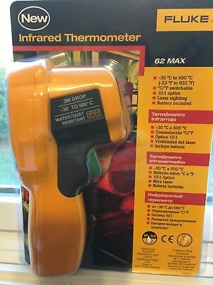Fluke 62 MAX Plus  Infrared (IR) Thermometer - New