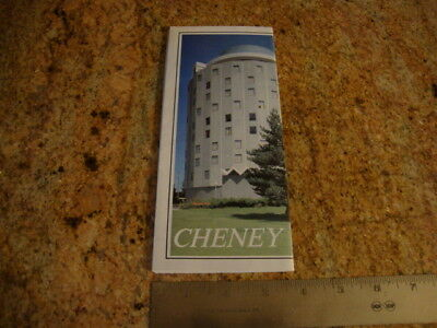 """VINTAGE Brochure ARE FISHING and RECREATION MAP """"CHENEY"""" Travel & Activities"""