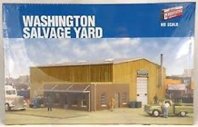 Walthers # 2928 Washington Salvage Yard Kit  HO MIB