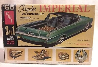1965 Chrysler Imperial 3 in 1 Customizing Kit AMT Model 1965