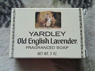 Vintage YARDLEY of LONDON OLD ENGLISH LAVENDER SOAP 3 Ounce New Old Stock