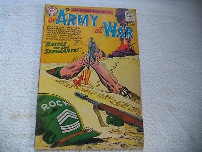 Our Army At War #128 Introducing Sgt. Krupp Complete Book Ungraded
