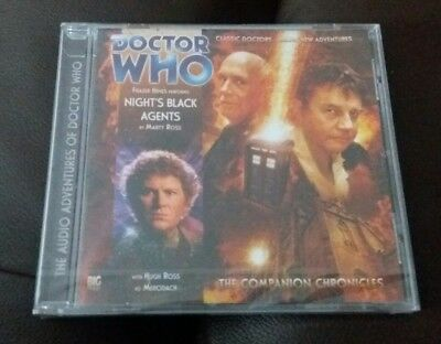 Doctor Who Companion Chronicles 4.11 NIGHTS BLACK AGENTS (Big Finish CD) NEW Dr6