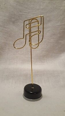 Music Note Stand Clip / Photo Holder