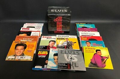 Elvis 18 UK No. 1s 18 CD Limited Edition Boxed Set No. 23206 Sony BMG