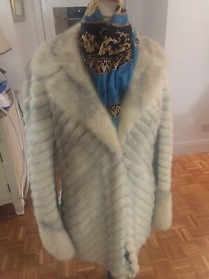 Vintage White Mink Jacket