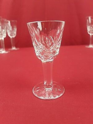 """Waterford Lismore Small Liqueur Cocktail/Cordial Glass Signed 3 1/2"""" Tall"""